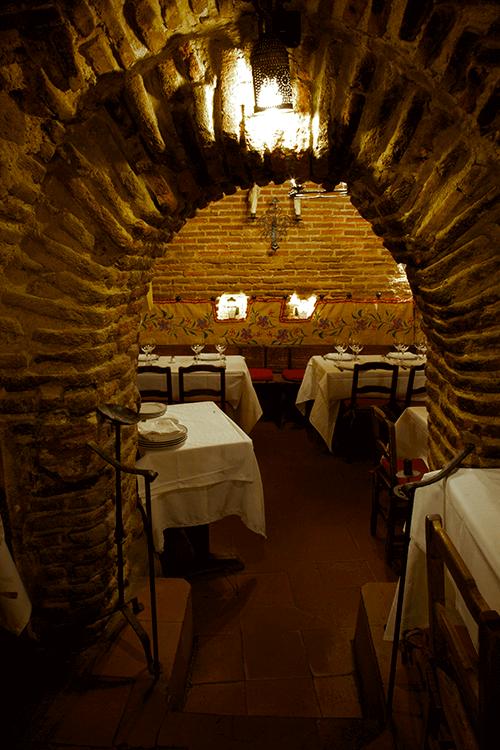 Salón del restaurante sobrino de botin